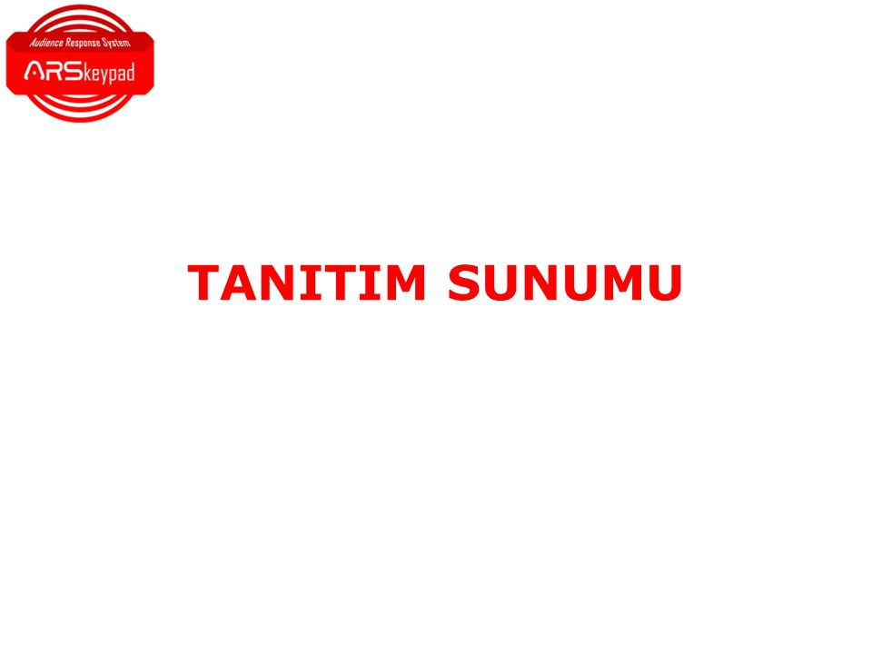 TANITIM SUNUMU