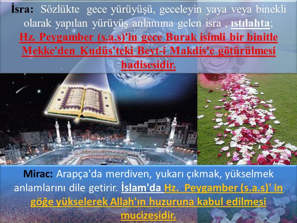 Geldim Allah'ım emrindeyim, işte huzurundayım, seni unutmadım, hep seninleyim Namaz müminler için bir göz aydınlığıdır.