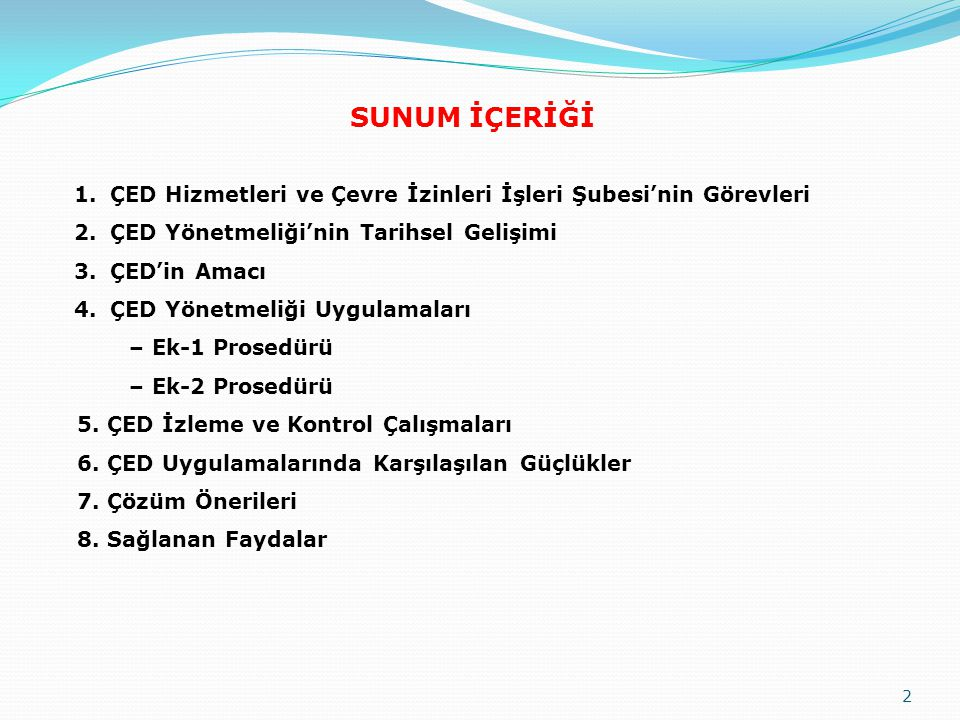 İZLEME VE KONTROL ÇALIŞMALARI 63 1993-2011 döneminde Aksaray için verilen ÇED kararlarının sektörel dağılımı.