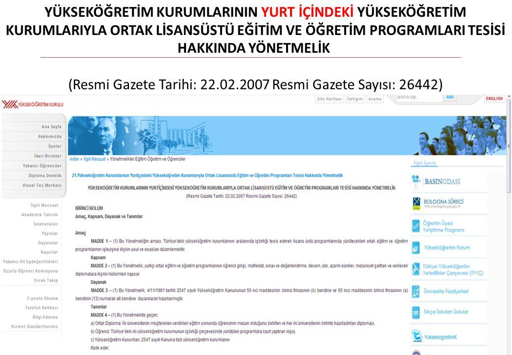 9 14. ÜNİP TOPLANTISI SONUÇ BİLDİRGESİ ATATÜRK ÜNİVERSİTESİ / 21 EYLÜL 2012