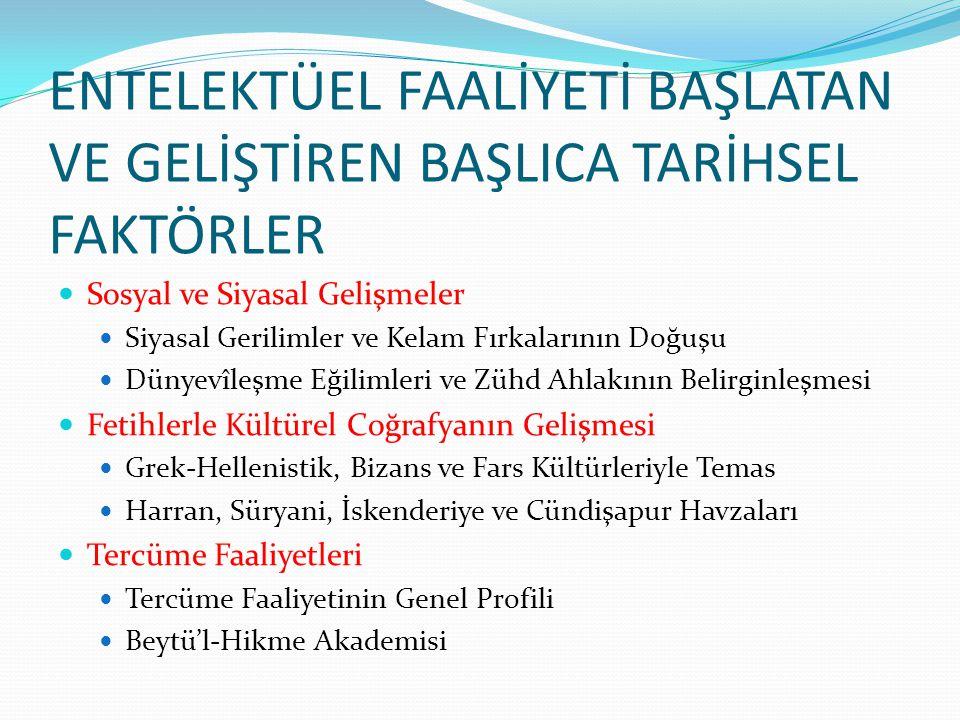 Günümüzde Tasavvuf  İslam Entelektüel Geleneğinin En Canlı Formu: Tasavvuf ve Tarikatlar  Tasavvufun Klasik ve Güncel Sorunu: Bilgi-İletişim  Klasik İslamî İlimler Açısından  Felsefenin Dili ve Tasavvuf  Akademya ve Tasavvuf Araştırmaları  Tasavvuf ve Edebiyat : Ülkemizde Tasavvufun En Etkin İfade Formu  Şeriat-Tarikat-Hakikat Bütünlüğünü ve Kriterlerini Yeniden Gözetmek.