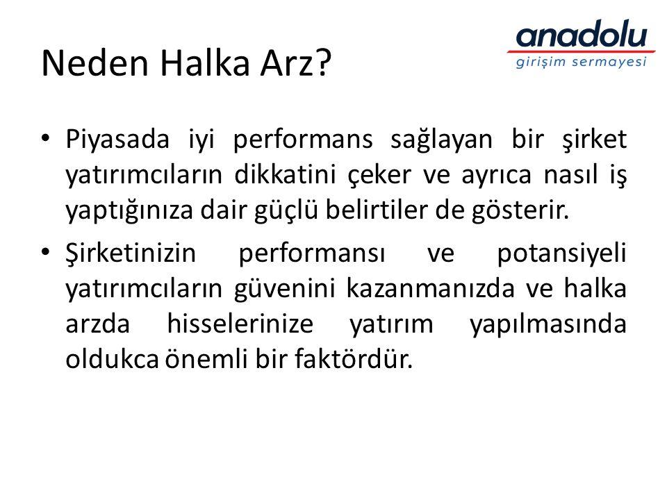 Neden Halka Arz.