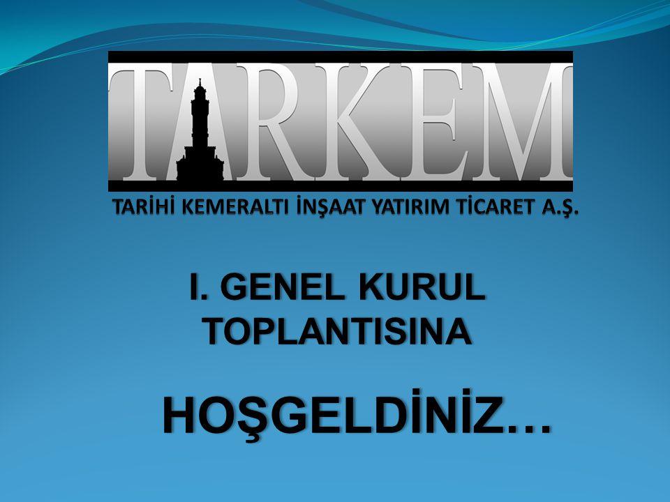 TARKEM Proje Bölgesi 1  İzmir'in saklı kalmış tarihi hazinesi olan Kemeraltı'nda kültür, turizm ve ticareti yeniden canlandırmak amacıyla konsept ve fizibilite çalışmaları için öncelikle yapılacak işin özelliklerine uygun firma araştırması yapılmıştır.