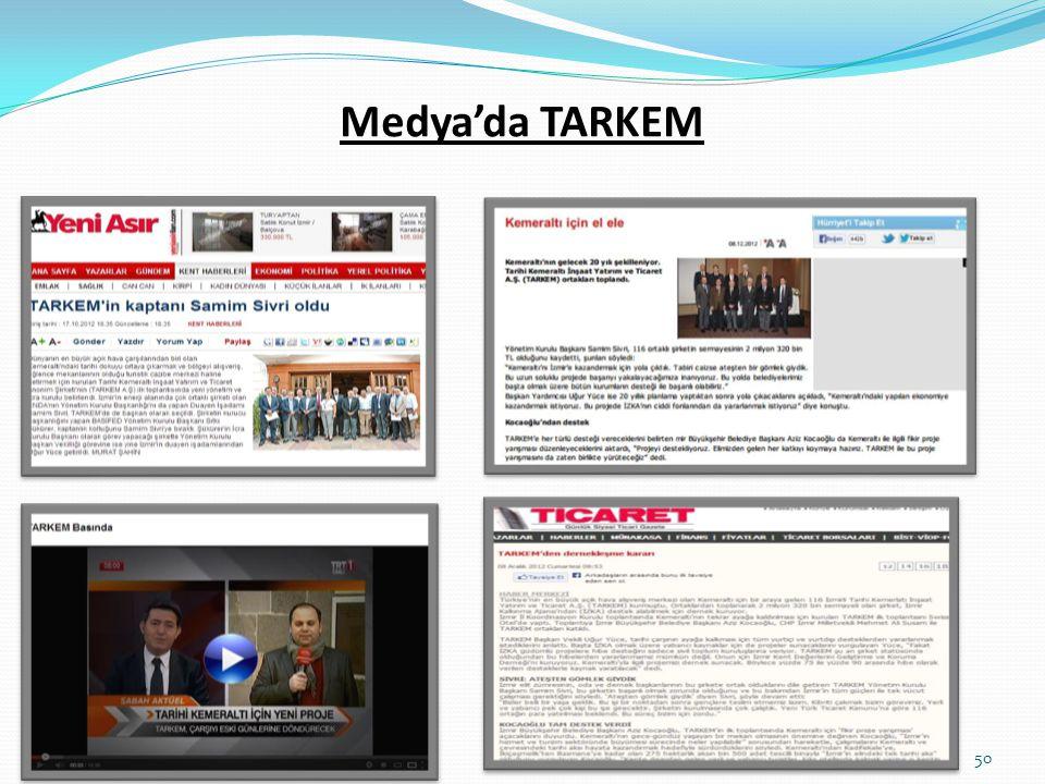 Medya'da TARKEM 50