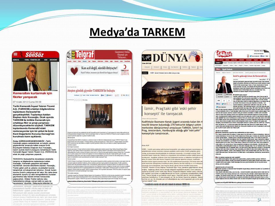 Medya'da TARKEM 51