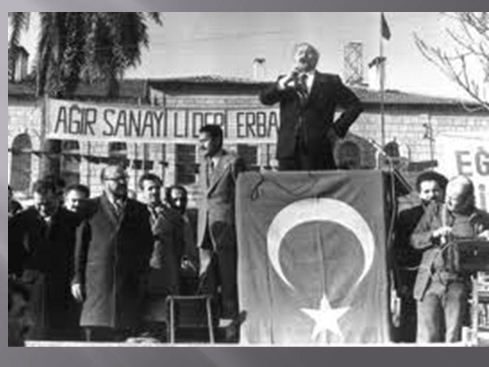  MSP nin kuruluş çalışmaları içinde yer alan Necmettin Erbakan, bu partiye resmen 1973 ün Mayıs ayında katıldı, 20 Ekim 1973 te partinin genel başkanı oldu.
