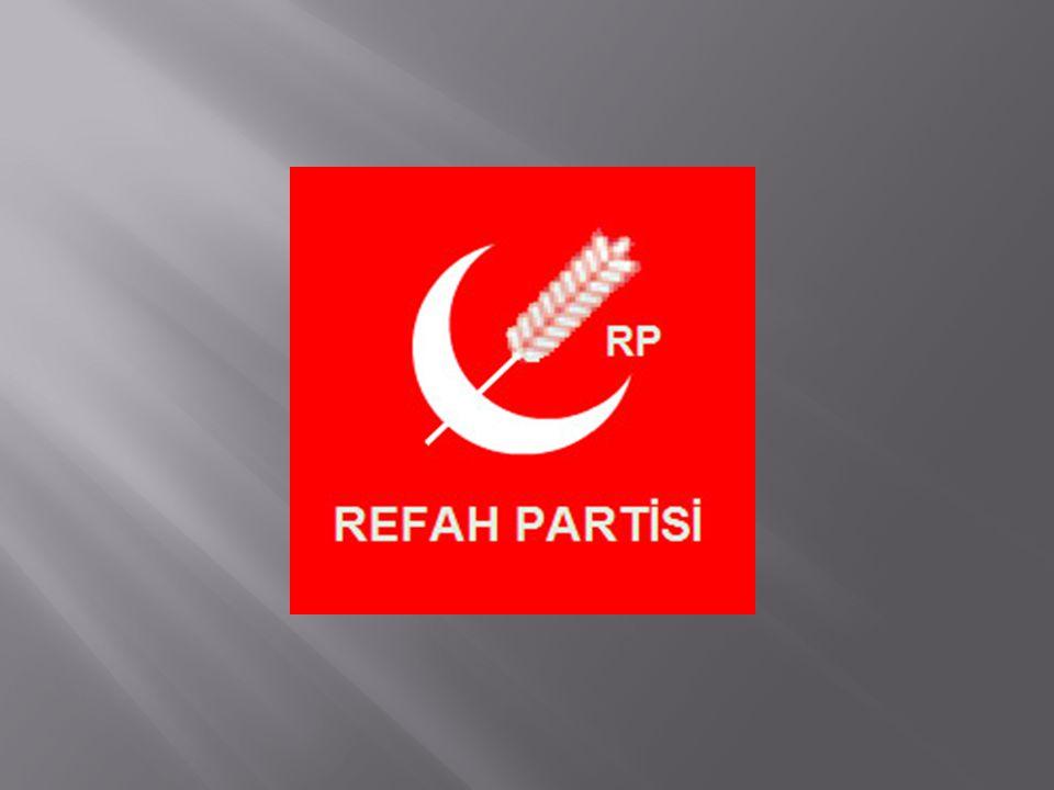  Milli Selamet Partisi, 12 Eylül 1980 askeri harekatından sonra kapatılmıştı.