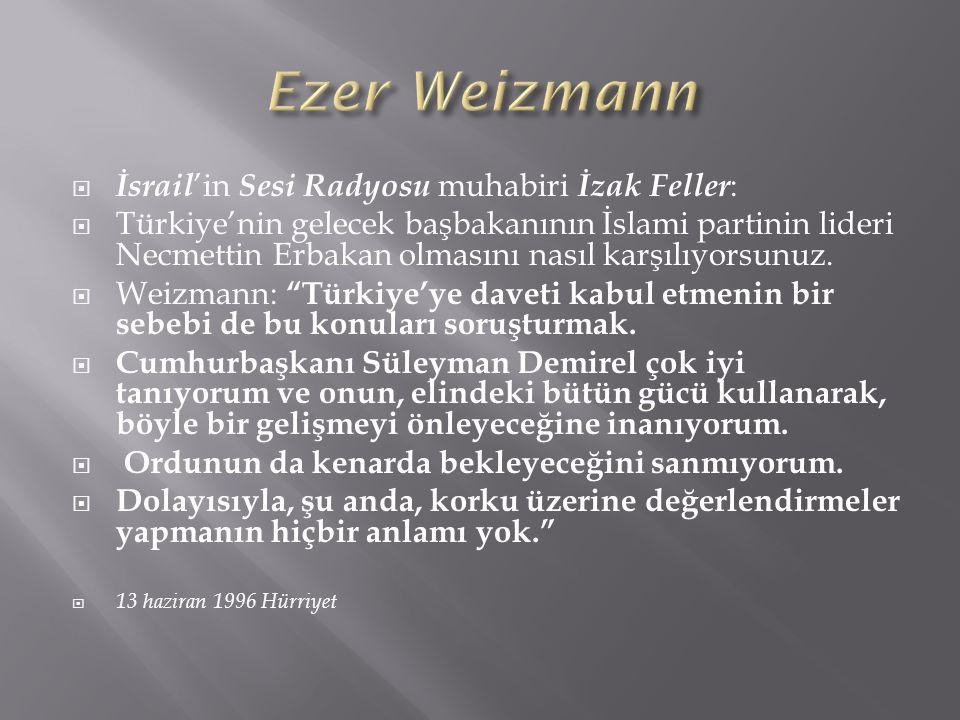 Ezer Weizmann