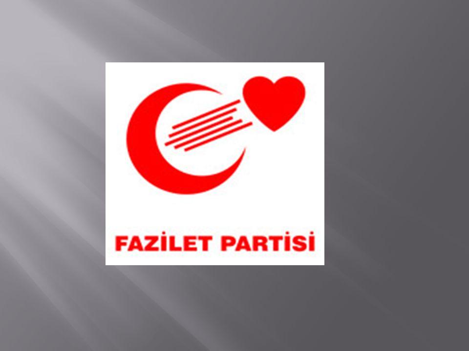 17 Aralık 1997 de, Refah Partisinin kapatılması ihtimaline karşı Milli Görüş çizgisindeki bir parti olarak İsmail Alptekin başkanlığında kuruldu.