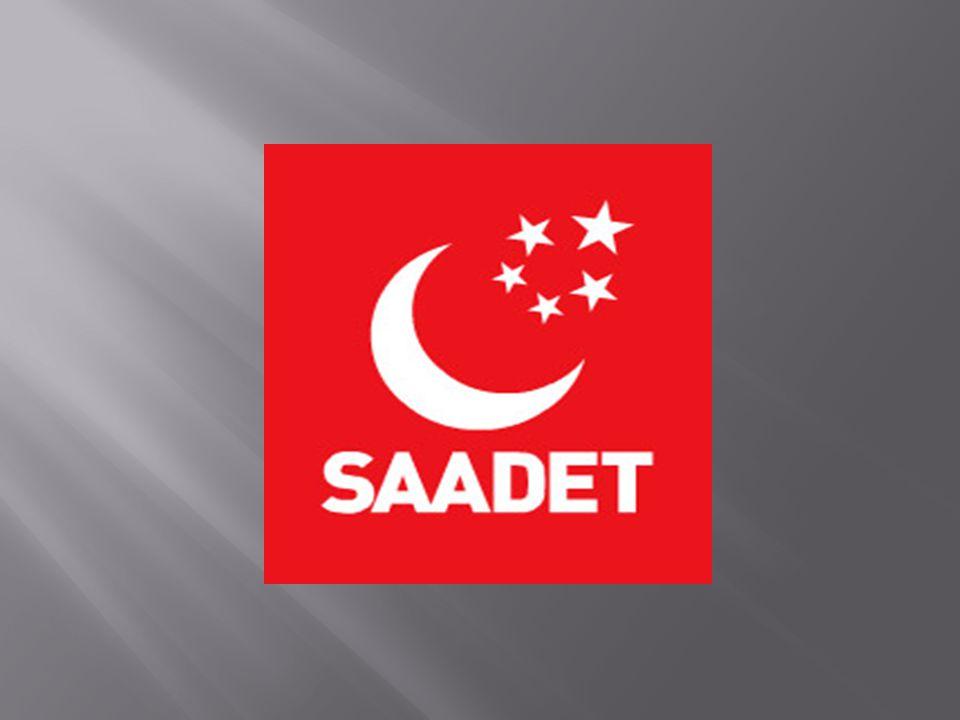  Millî Görüş hareketinin siyasî partisi olan Saadet Partisi, 20 Temmuz 2001 tarihinde Ankara da kuruldu.