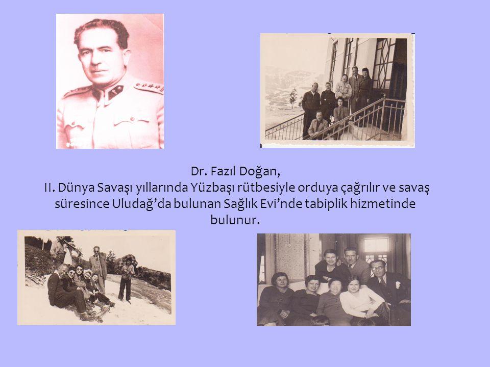 Dr.Fazıl Doğan, II.