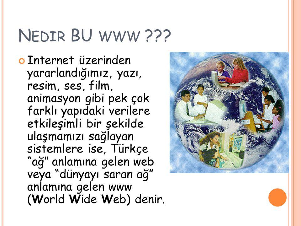 Son yüzyılın en büyük icadı nedir sorusunun cevabı olarak Internet gösteriliyor.