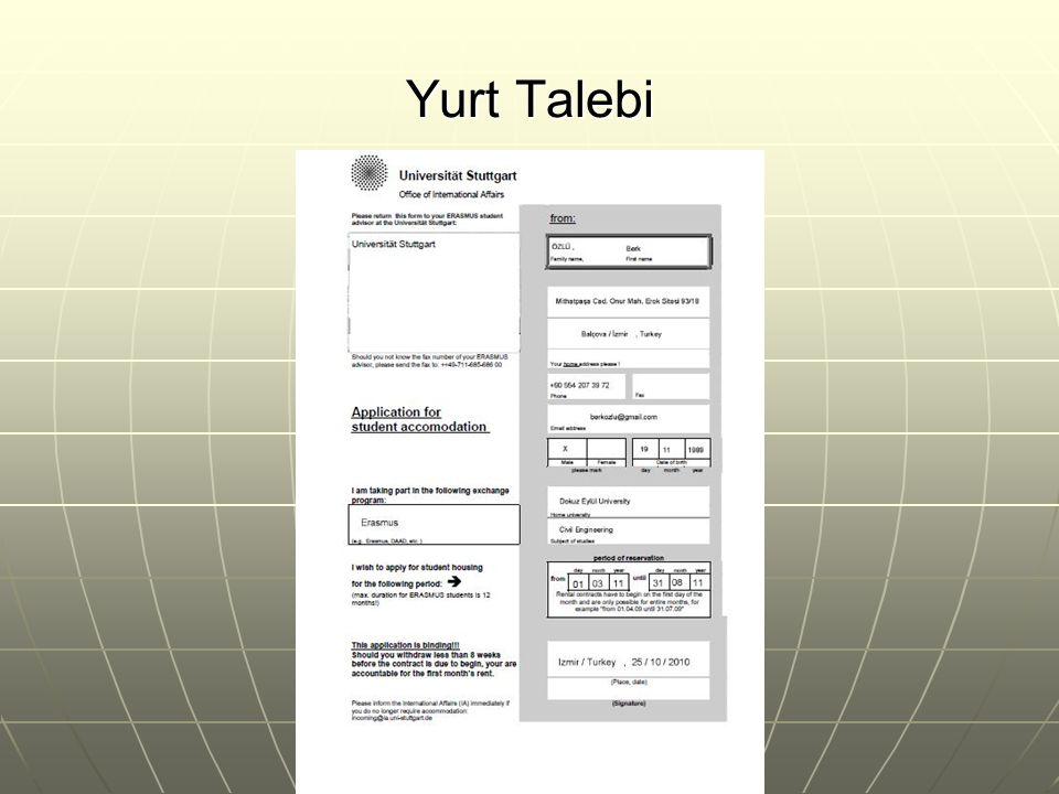 Yurt Talebi