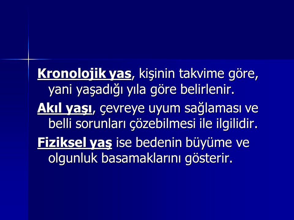 DUYGUSAL (RUHSAL) GELİŞİM  B.