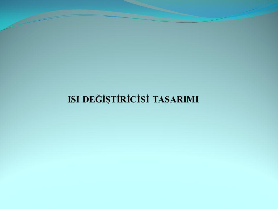 ISI DEĞİŞTİRİCİSİ TASARIMI