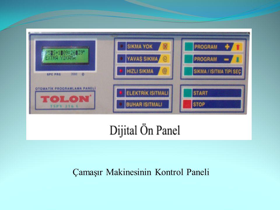 Çamaşır Makinesinin Kontrol Paneli