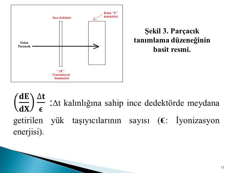 13  Şekil 3. Parçacık tanımlama düzeneğinin basit resmi.