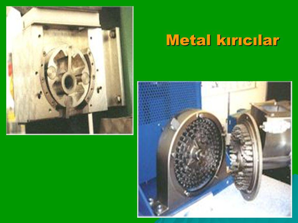 Metal kırıcılar Metal kırıcılar