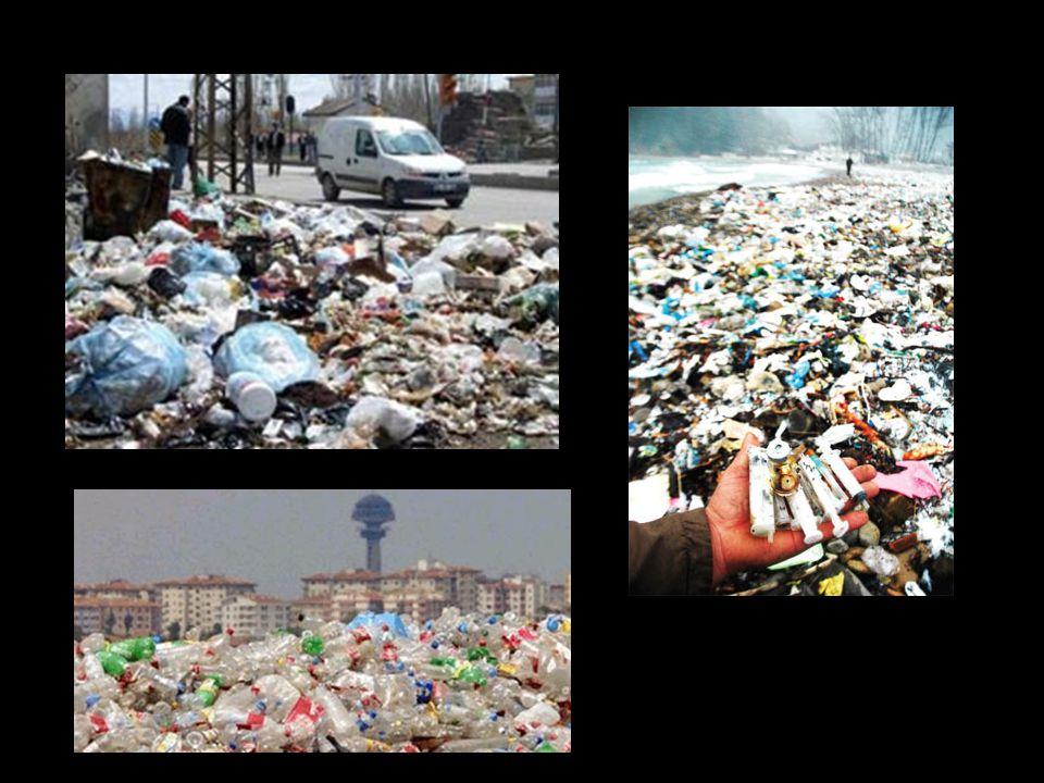 GERÇEKLER • Çöpü her zaman insan üretir.