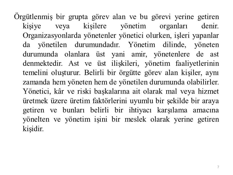 • 2.ORGANİZASYON • 1.