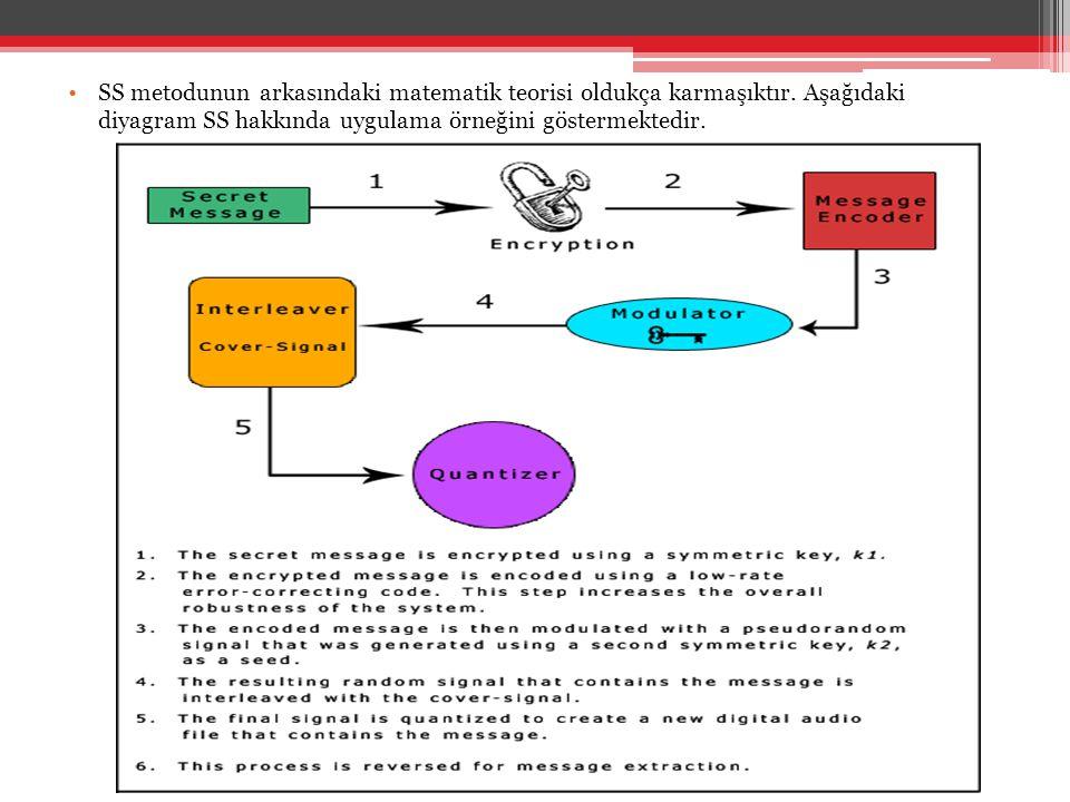 •SS metodunun arkasındaki matematik teorisi oldukça karmaşıktır. Aşağıdaki diyagram SS hakkında uygulama örneğini göstermektedir.