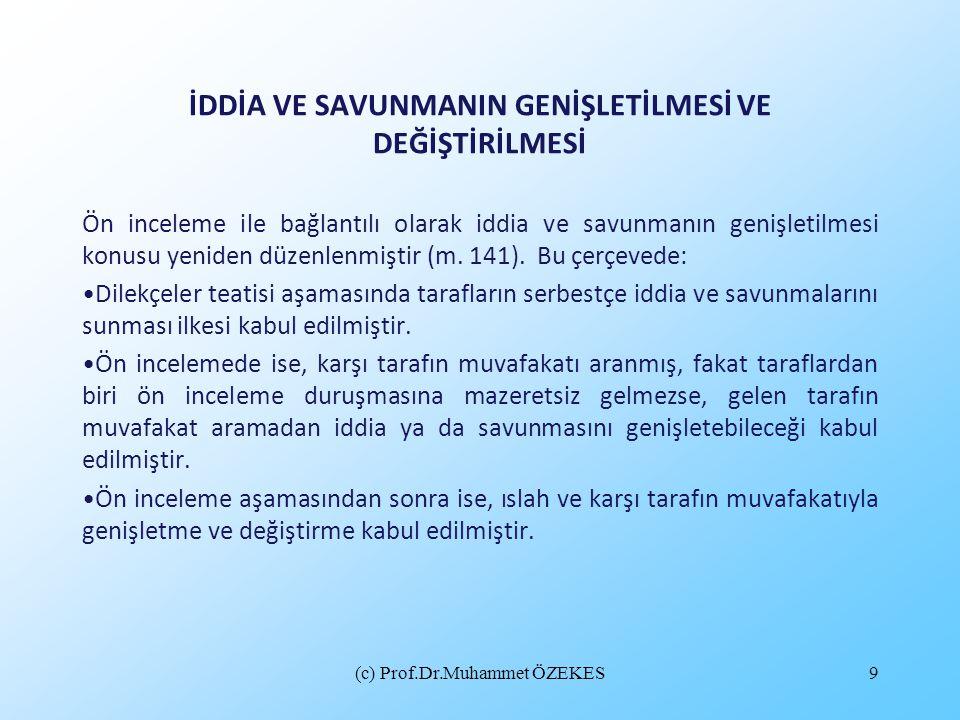 (c) Prof.Dr.Muhammet ÖZEKES10 TAHKİKATIN GENEL SEYRİ VE TAHKİKAT DURUŞMALARI •Tahkikatın yürütülmesi bakımından da tahkikatın (m.