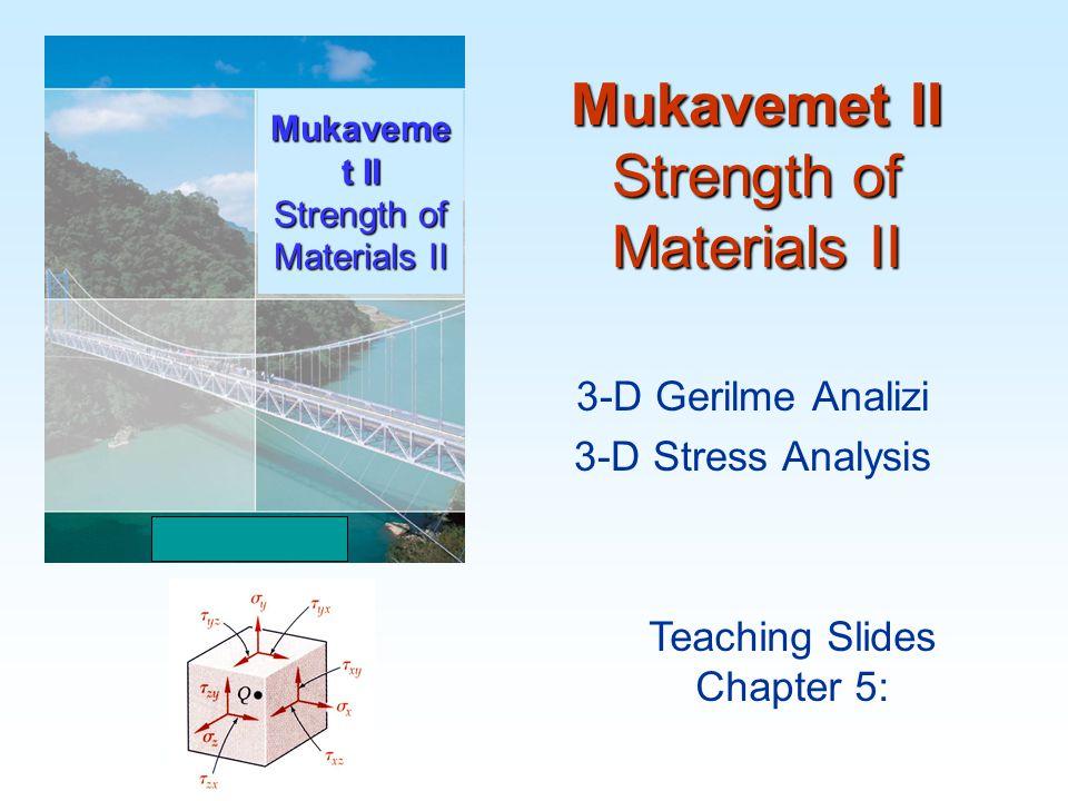 3D Gerilme Analizi 22 ve