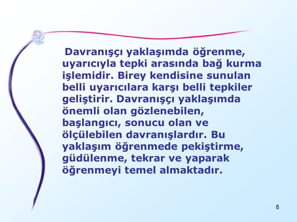 147 ZEKAYA İLİŞKİN ESKİ ANLAYIŞ 1.