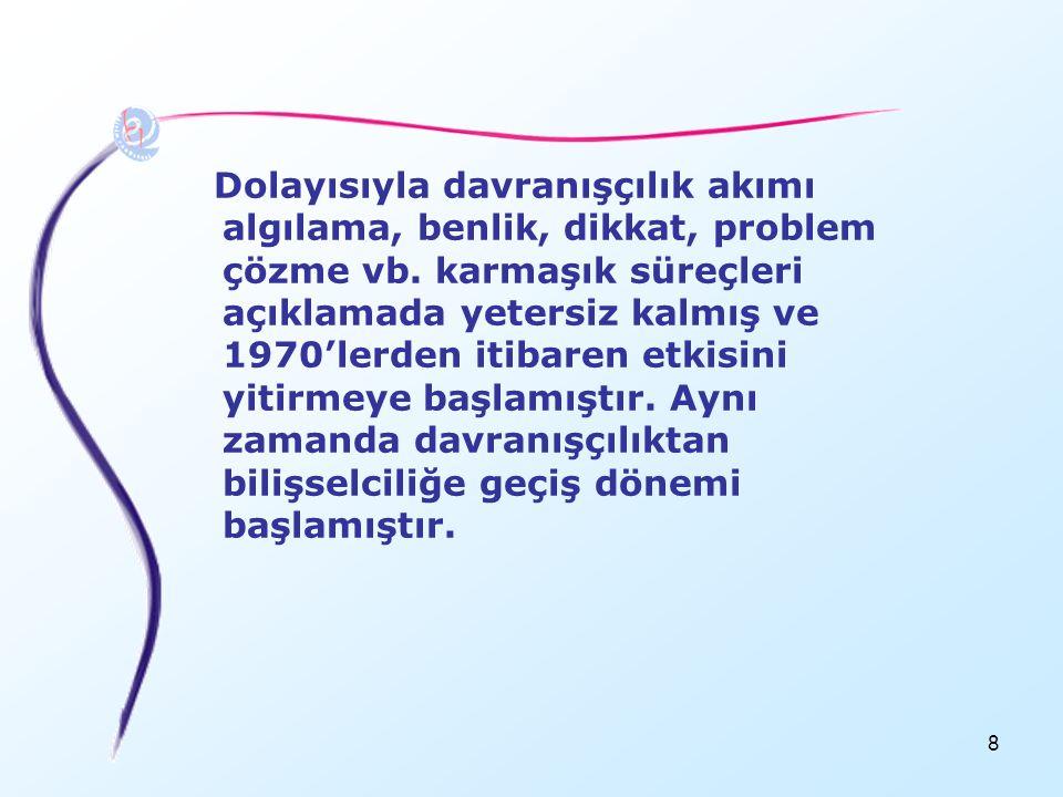 119 ÖĞRENME STİLLERİ •Herkesin farklı öğrenme ve bilgi işleme sistemleri var •Öğrenme stili, öğrencinin en iyi öğrendiği yoldur.
