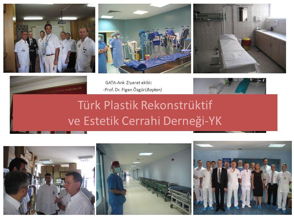 GATA-Ank Ziyaret ekibi: -Prof. Dr. Figen Özgür(Başkan) - Doç. Dr. Emre Aksu (Sekreter) -Doç. Dr. Sühan Ayhan -Doç. Dr. İbrahim Vargel -Prof. Dr. Musta