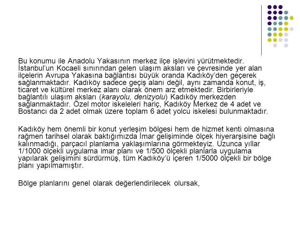 Bu konumu ile Anadolu Yakasının merkez ilçe işlevini yürütmektedir. İstanbul'un Kocaeli sınırından gelen ulaşım aksları ve çevresinde yer alan ilçeler