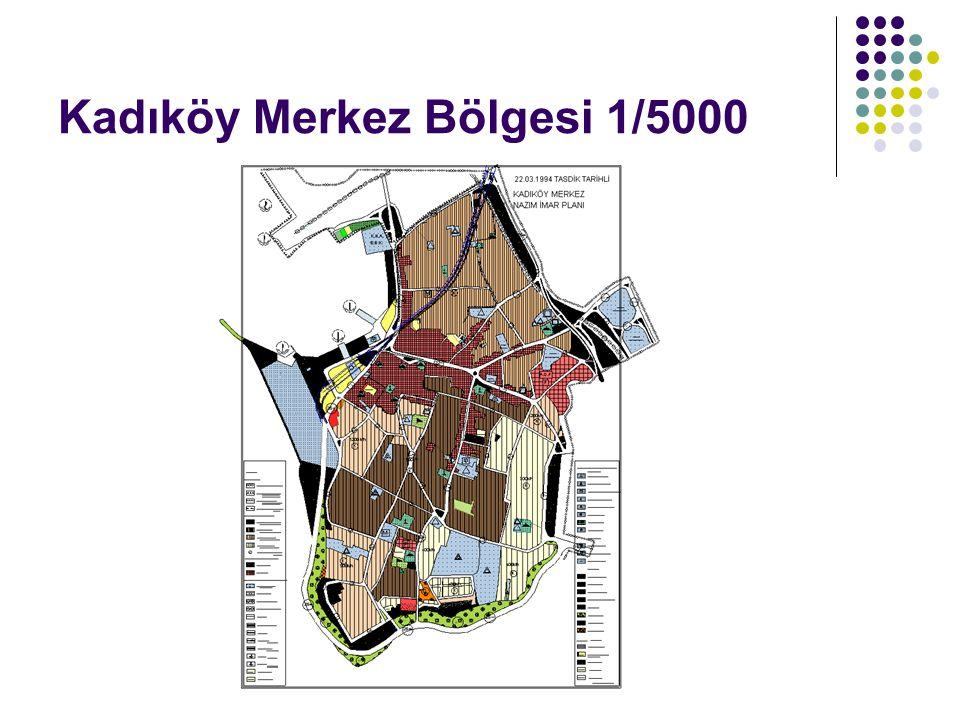 Kadıköy Merkez bölgesi ilk perwitiç haritaları ile yapılaşmasına başlamış daha sonra imar planları olarak 1970-1971-1972-1973 yıllarını içeren 1/500 ölçekli Moda Merkez etap planları yapılmış ve bu planlar halen yürürlüktedir.