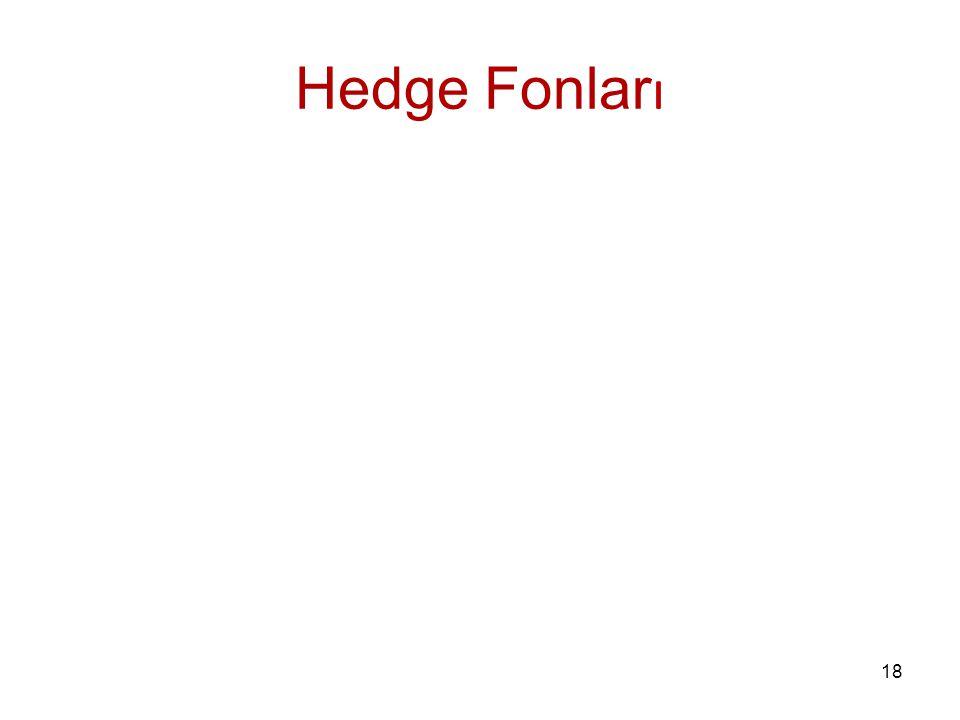 18 Hedge Fonlar ı