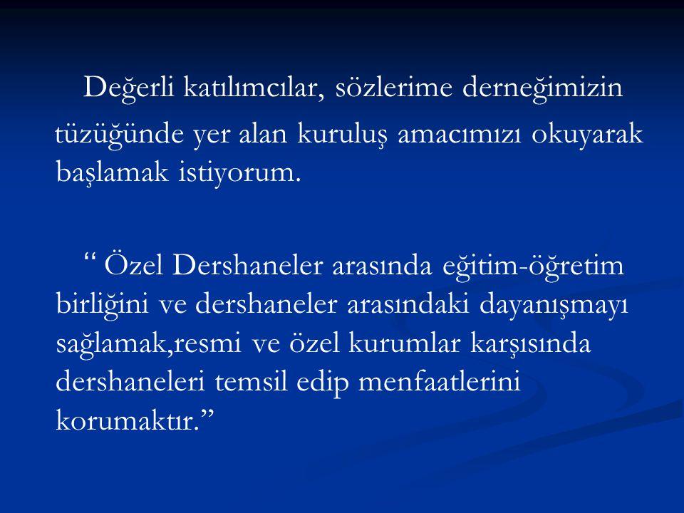  İzmir Özel Dershaneler Derneği (İZ-Ö-DER) resmi olarak 04.12.2009 tarihinde kurulmuştur.