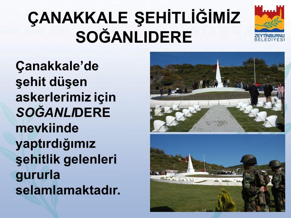 ÇANAKKALE ŞEHİTLİĞİMİZ SOĞANLIDERE Çanakkale'de şehit düşen askerlerimiz için SOĞANLIDERE mevkiinde yaptırdığımız şehitlik gelenleri gururla selamlama