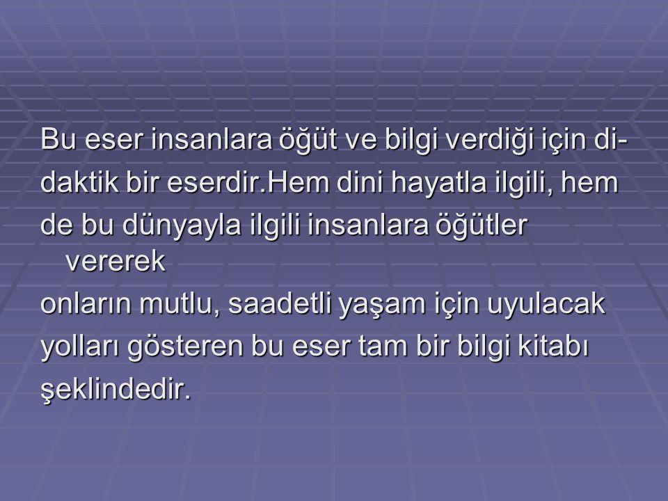 """""""Kut"""",Türkçe'de,saadet,devlet anlamlarına gelir.Kutadgu Bilig: kutluluk bilgisi,saadet bilgisi, devlet olma bilgisi manalarına gelir. Kitap,gerek fert"""