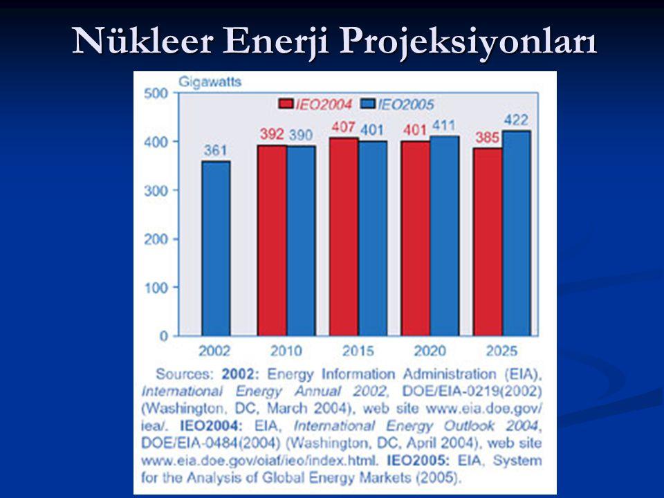 Nükleer Enerji Projeksiyonları