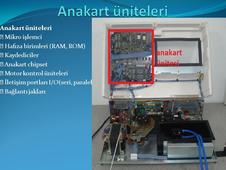 Fotodedektör ünitesi, numune içinden geçen ışığın absorbe miktarını algılayan ünitedir.