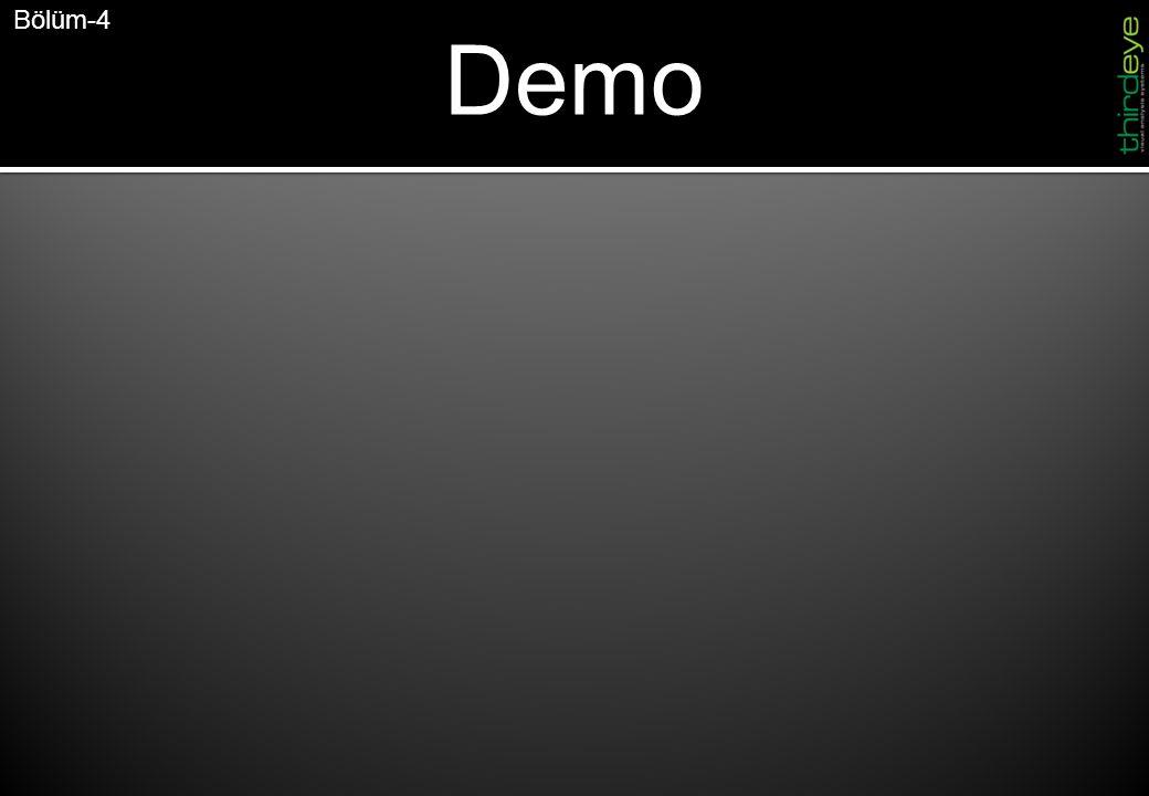 Demo Bölüm-4
