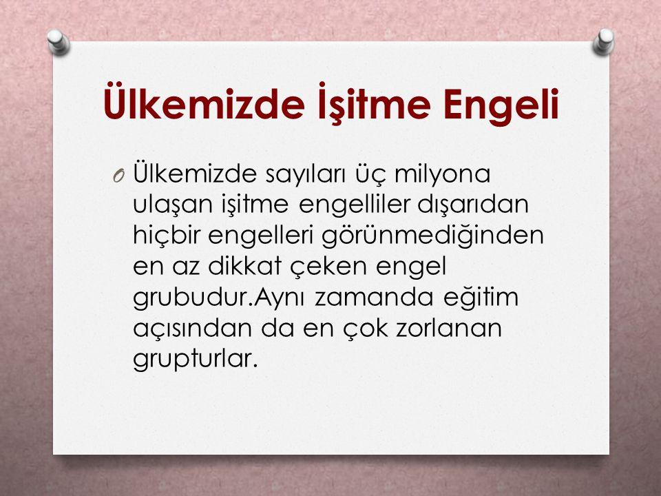 İŞARET DİLİ O II.Abdülhamit döneminde yapılan büyük bir yanlışlıkla Türk işaret dili öğrenilmesi ve konuşulması yasaklanmıştır.