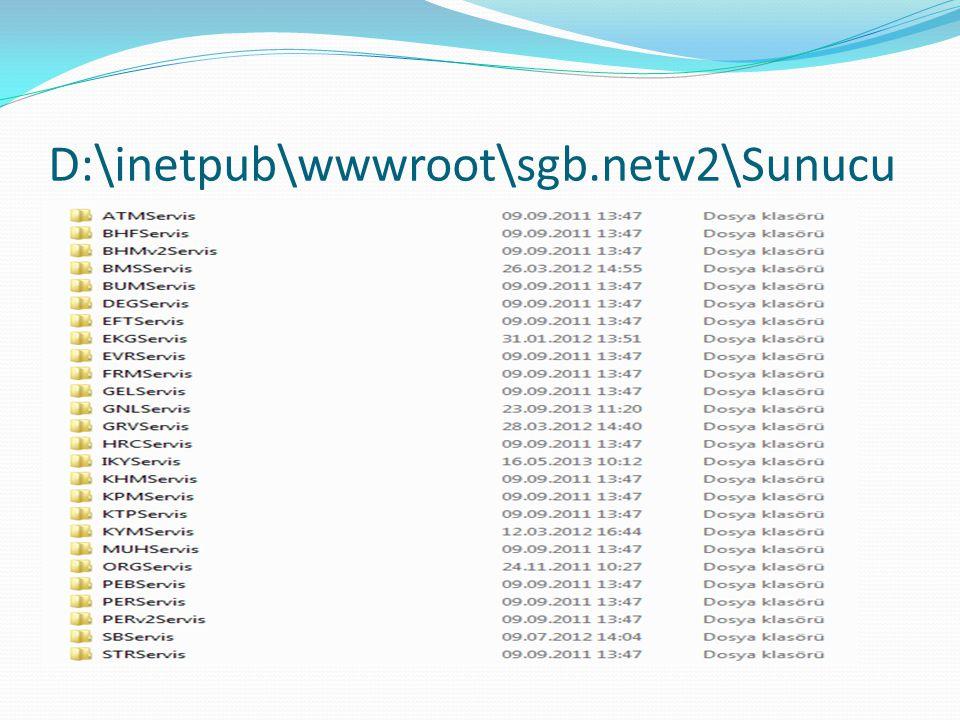 D:\inetpub\wwwroot\sgb.netv2\Sunucu