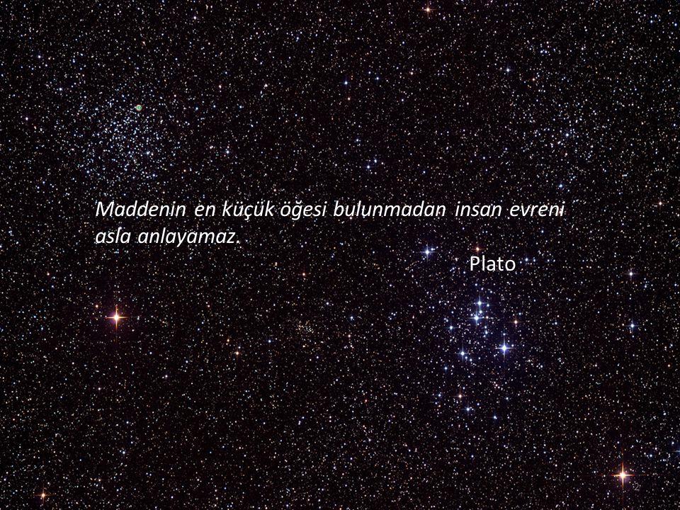 Büyük Patlama'dan sonra evrenimiz bir parçacık kadar küçüktü. 3