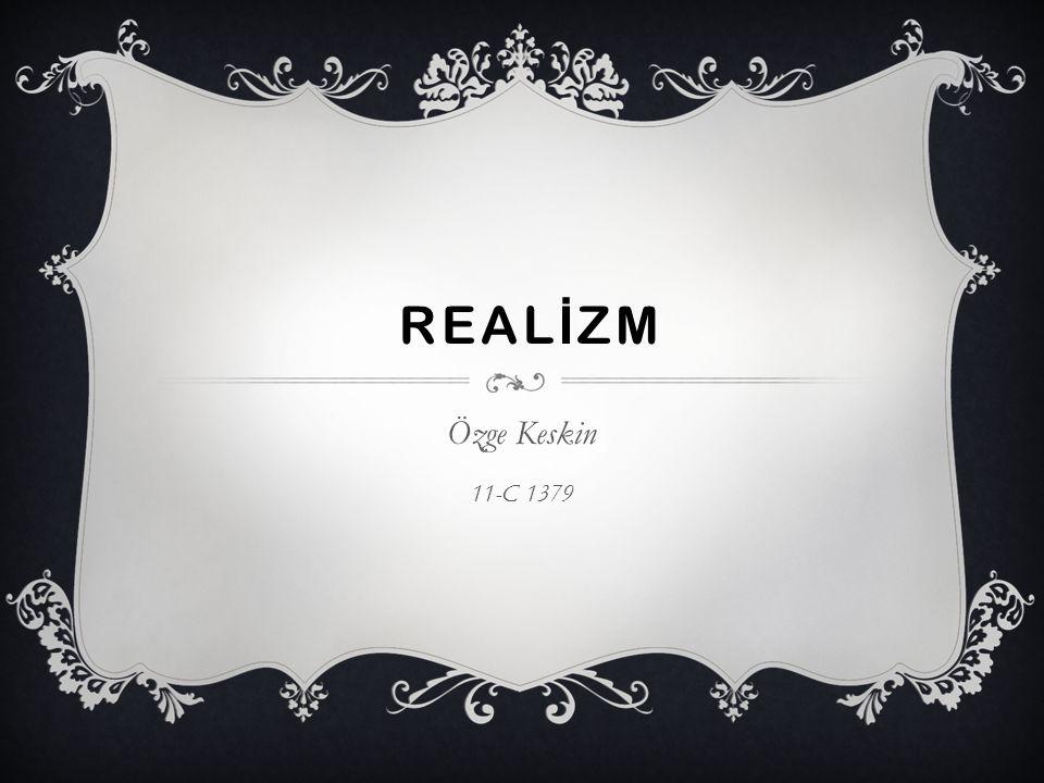 REAL İ ZM Özge Keskin 11-C 1379
