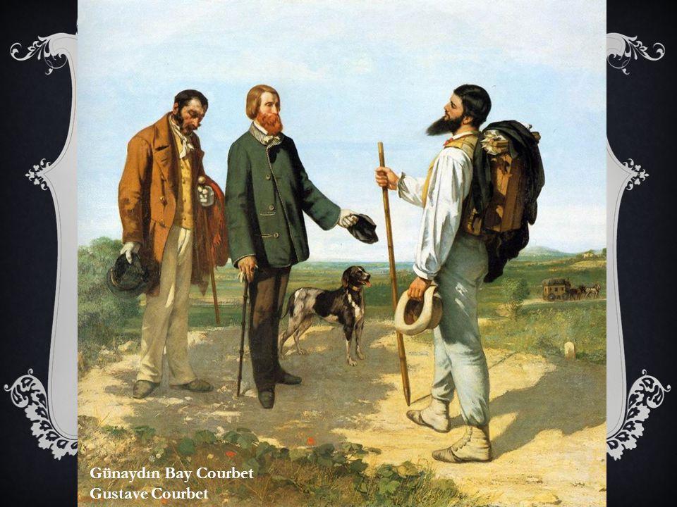Günaydın Bay Courbet Gustave Courbet