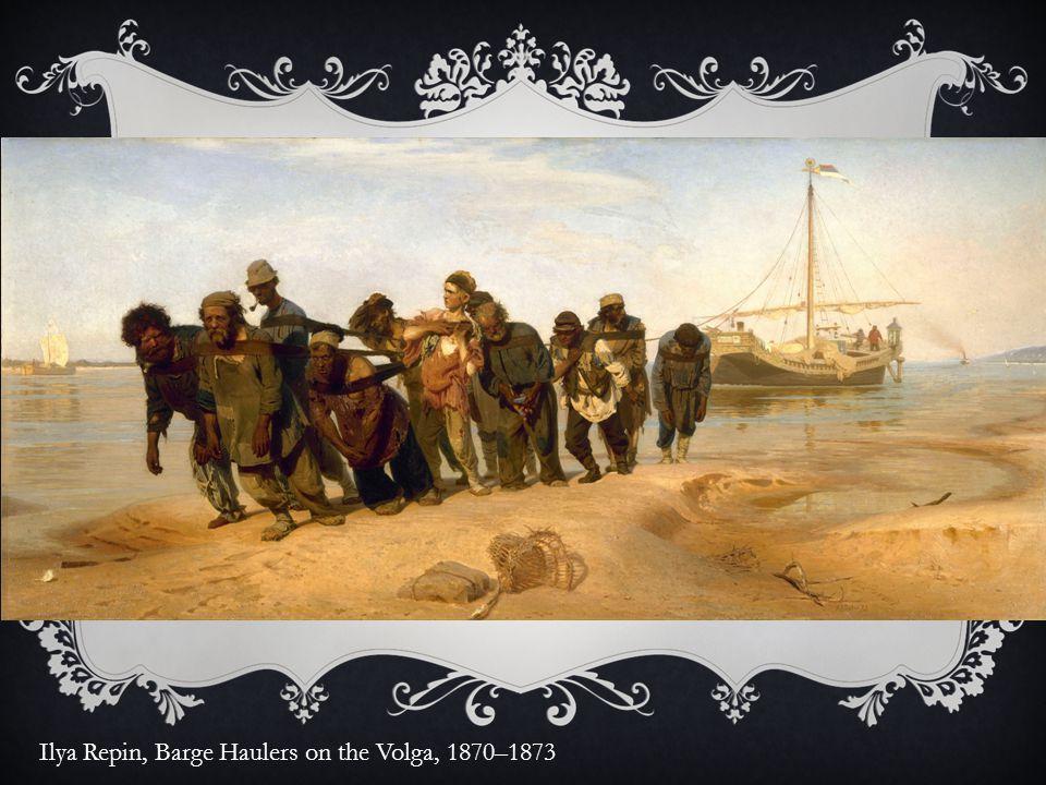Ilya Repin, Barge Haulers on the Volga, 1870–1873