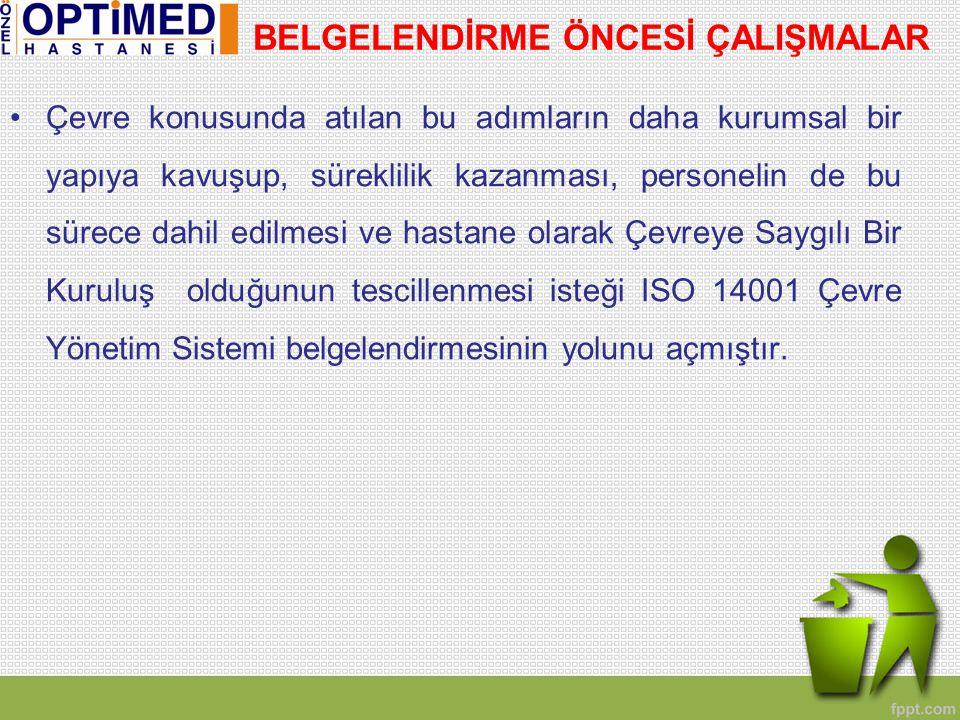 2.Yapılan çalışmalar hastanenin bulunduğu Çerkezköy ve Çorlu bölgelerinde basın tarafından yakın takip edilmiş ve gazetelerde haber olarak yer almıştır.