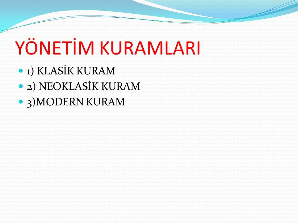 Weber'in önerdiği ideal tip bürokrasi beş unsurdan meydana gelmektedir (Bursalıoğlu, 2002, 20):  1.