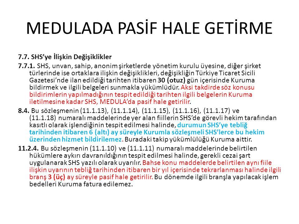 MEDULADA PASİF HALE GETİRME 8.5.