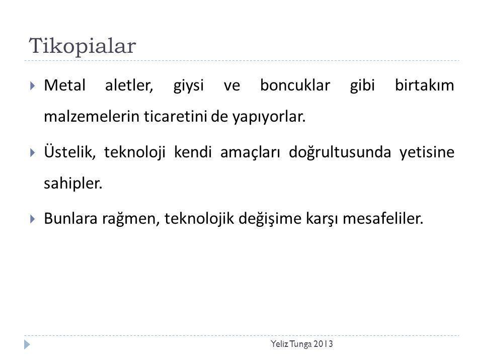 Göç Yeliz Tunga 2013  Hünerlerin ve ürünlerin göç eden insan kümeleriyle birlikte aktarılmasıdır.