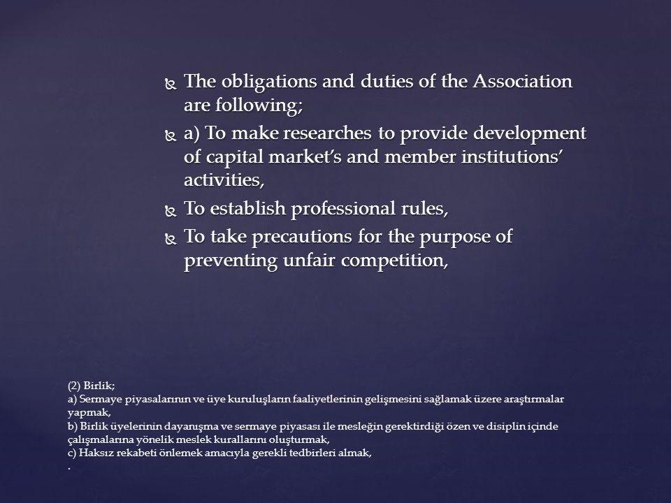 CENTRAL REGISTRATION INSTITUTION  Stock corporation  ACTIVITIES  Registration of capital market instruments  Concealing of capital market instruments  Monitoring those instruments and related rights in electronic-format 6362 CMA Merkezî Kayıt Kuruluşu MADDE 81 –(1) Merkezî Kayıt Kuruluşu, sermaye piyasası araçlarının kaydileştirilmesine ilişkin işlemleri gerçekleştirmek, kaydileştirilen bu araçları ve bunlara bağlı hakları, elektronik ortamda, üyeler ve hak sahipleri itibarıyla kayden izlemek, bu araçların merkezî saklamasını yapmak üzere kurulmuş, özel hukuk tüzel kişiliğini haiz anonim şirkettir.